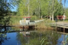 En gammal båt ...