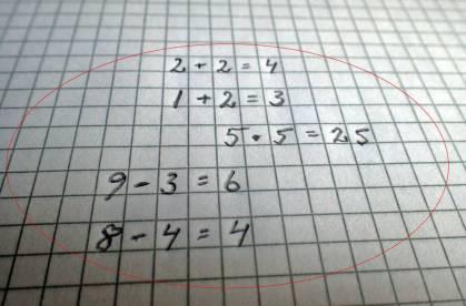 ... som i matematik