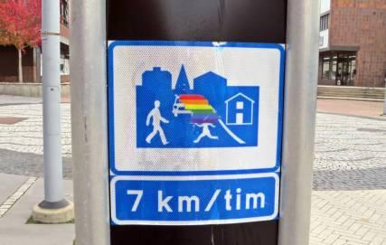 Även Finspång har numer sin egen Pride- festival ...