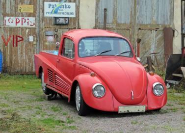 23 november. Läcker VW i Norsholm ...