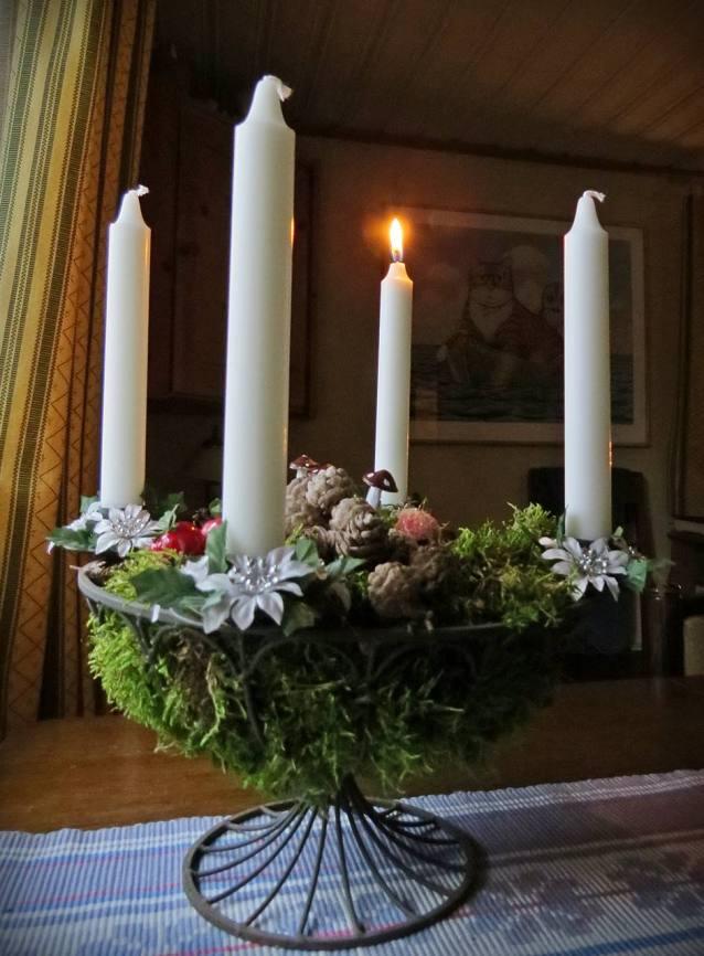 2 december. 1:a advent.