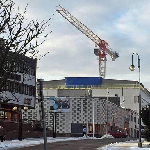 ... och bygget av ny vårdcentral fortsätter ...