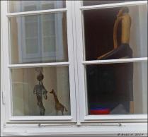 Inte riktigt säker, men jag tror det är ett fönster i Norberg.