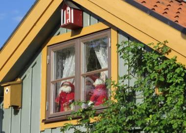 Beviset på att tomten bor i Söderköping!