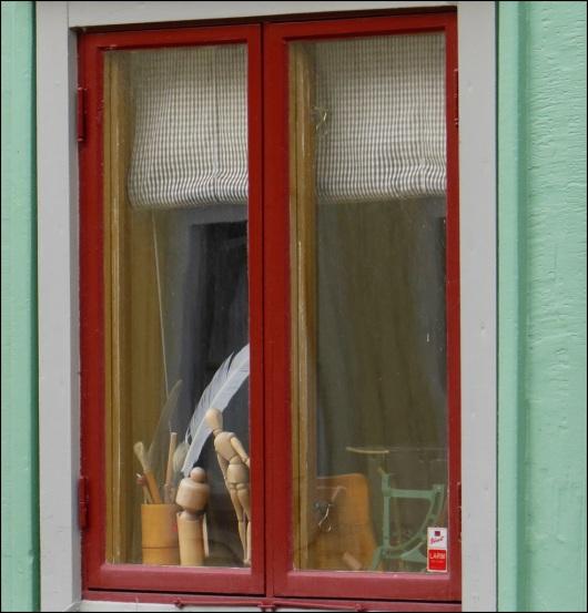 Ett konstnärsfönster ...