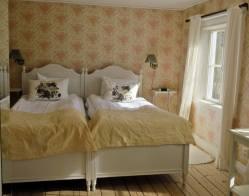 Ett av rummen ...