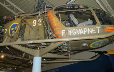 ... gammal helikopter ...