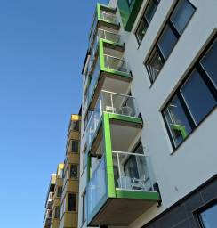 Fler balkonglådor