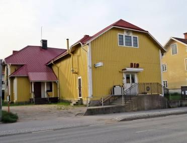 Idag ser det inte riktigt likadant ut, men nog ser man att det är samma hus ...