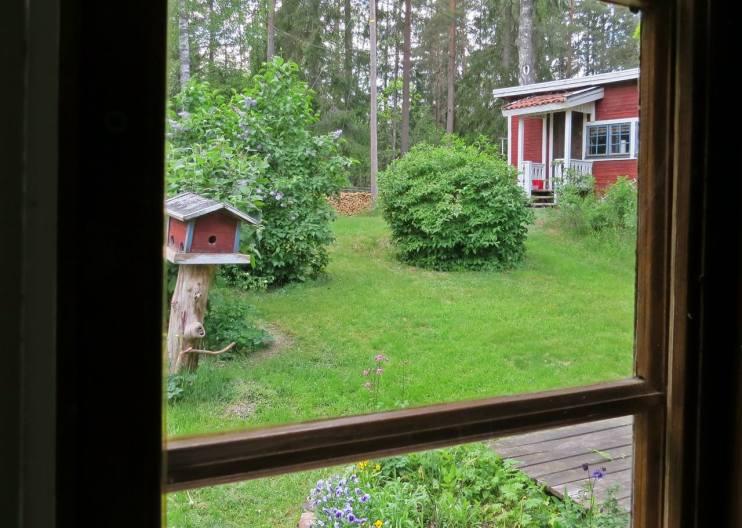 ... och utsikt från mitt köksfönster ...