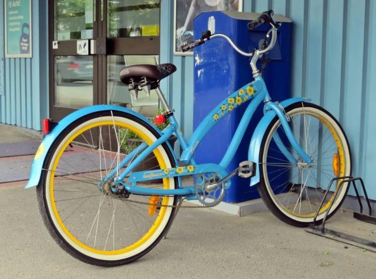 ... och en snygg cykel :)
