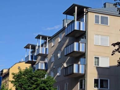 Hus är kul ... det här är ganska fult, men balkongerna är fina.