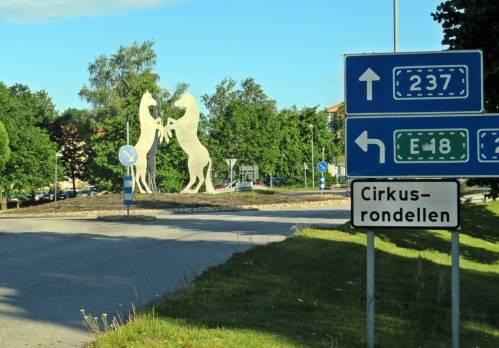 Cirkusrondellen ... Karlskoga har gamla anor som cirkusstad ...