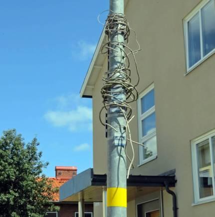 Även i Karlstad fanns kabelspagetti ...