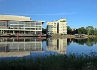 Det byggs mycket i Karlstad ...