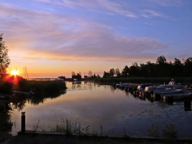 En vacker soluppgång ...