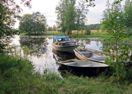 Båtar i sjön ...
