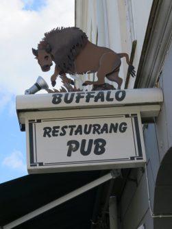 En restaurang i Mariestad ...