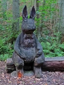 , en kanin ...