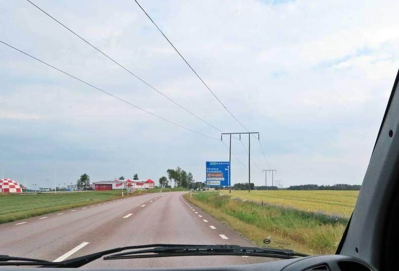 På väg mot Borgvik ...
