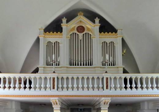 Orgelläktaren.