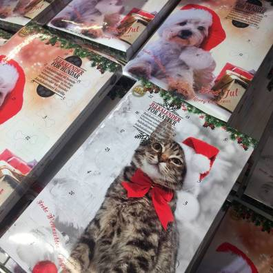 Hm ... julkalendrar för hundar och katter?!