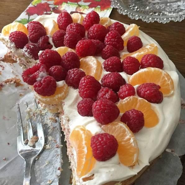 Tårtan var bra och åtgången god.