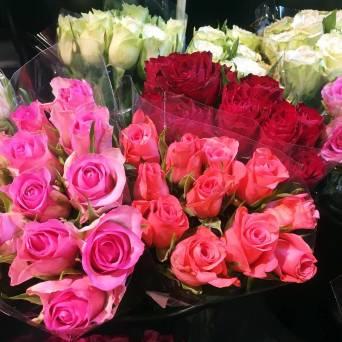 ... och mer rosor ...