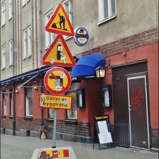 Norrut ... vid S:t Persgatan.