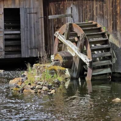 Vattenhjulet vid smedjan